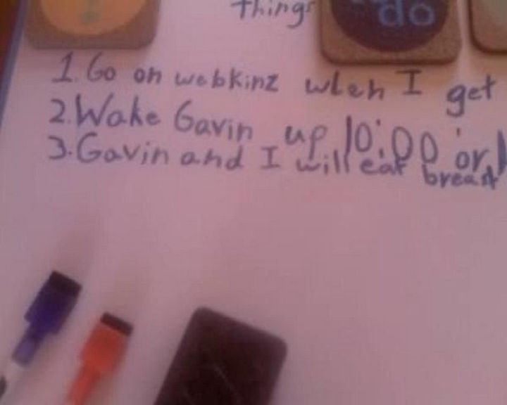 19 Clever Kids - He and Gavin will eat what?