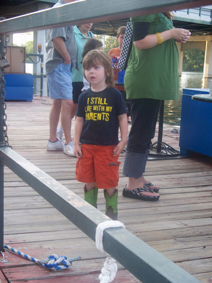 19 Clever Kids - Chin up, things will get better kiddo.
