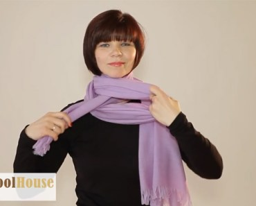 19 awesome ways to wear and tie your next scarf.
