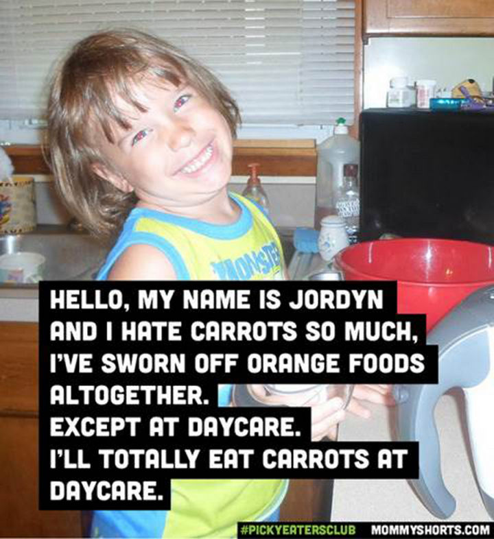Picky Eaters Club - Hello, my name is Jordyn...