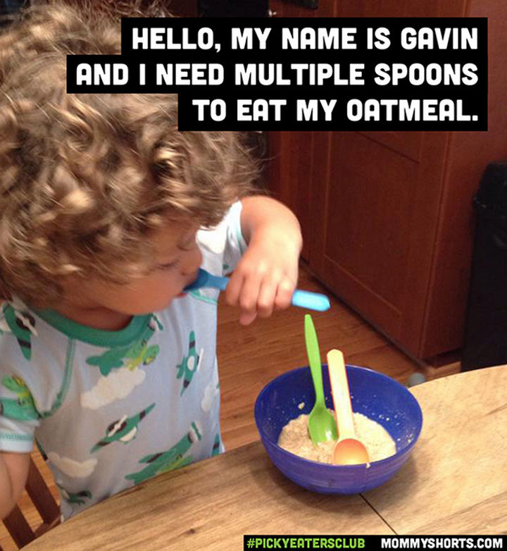 Picky Eaters Club - Hello, my name is Gavin...