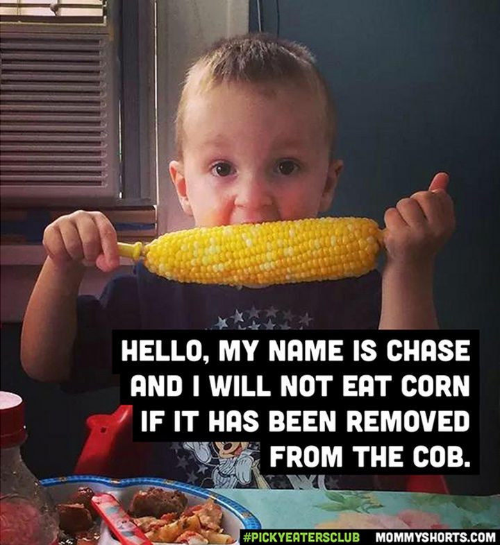 Picky Eaters Club - Hello, my name is Chase...