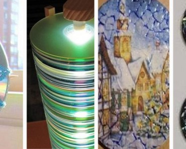 16 DIY Projects You Can Make Using Old and Scratched CDs