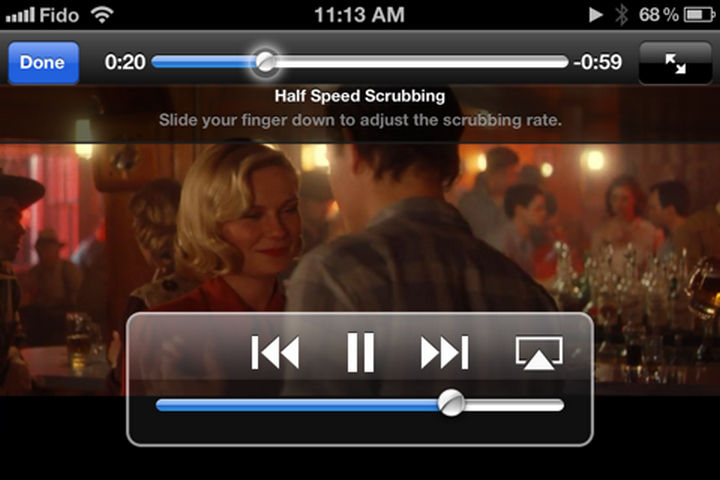 19 iPhone Tips and Tricks - Scroll through music and videos at half, quarter, or eighth speed.