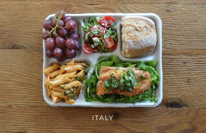 School Lunches Around the World - Italy.