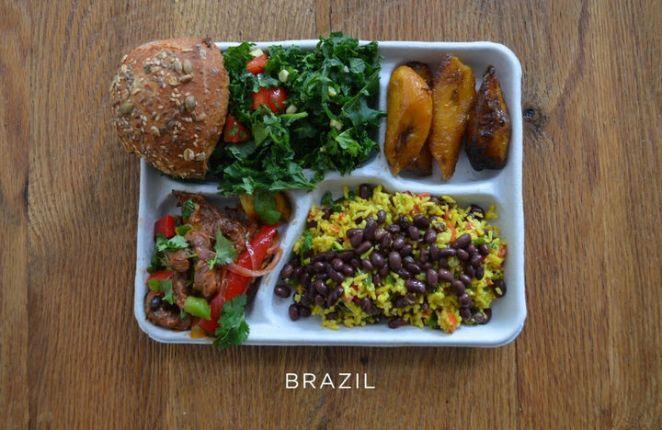 School Lunches Around the World - Brazil.