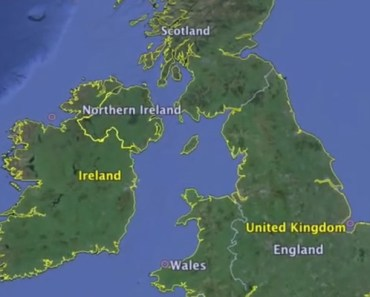 Listen as this man describes accents across the British Isles.