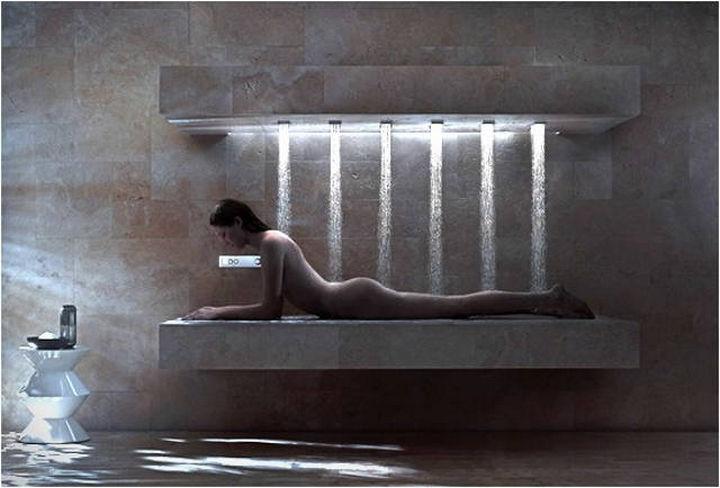 13 Beautiful Showers - Horizontal shower.