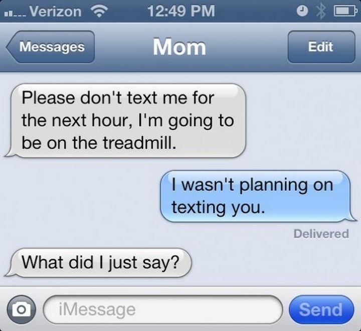 22 Hilarious Texts between Parents and Their Kids - I told you so.