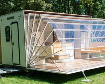 The Marquis Trailer Transforms into the Ultimate Urban Camper.