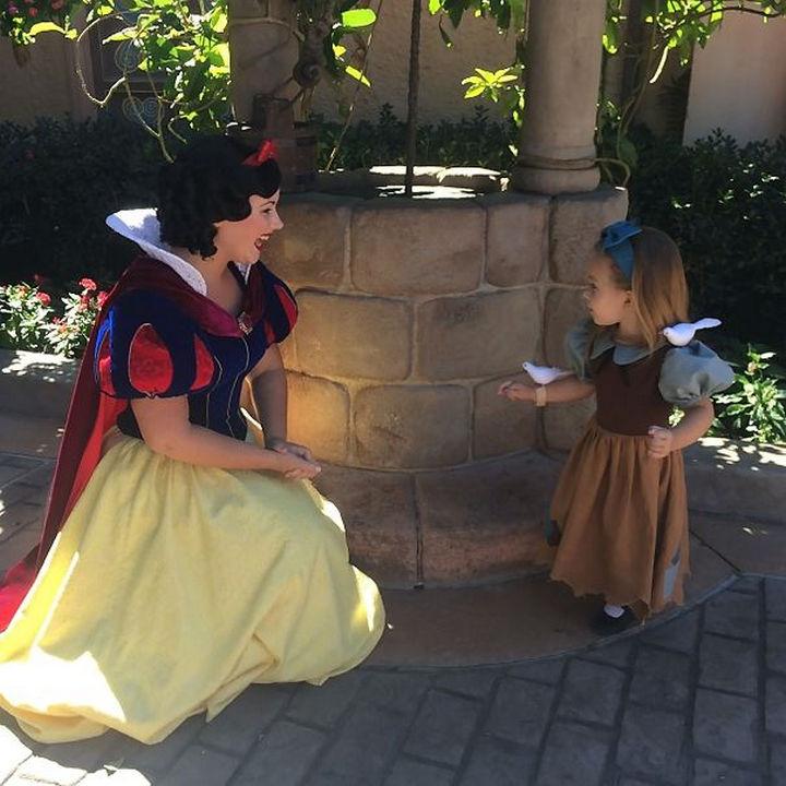 Snow White costume.