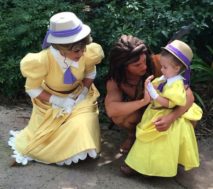 Jane and Tarzan costumes.