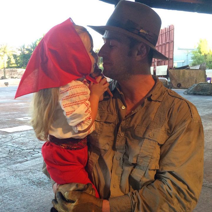 Marion Ravenwood costume from Indiana Jones.
