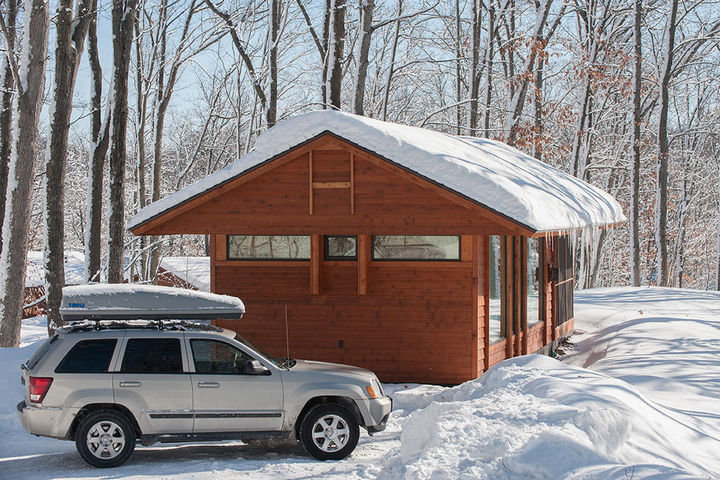Unlike a camping trailer, ESCAPE Park Models can be used all-year-round and perfect for winter getaways.