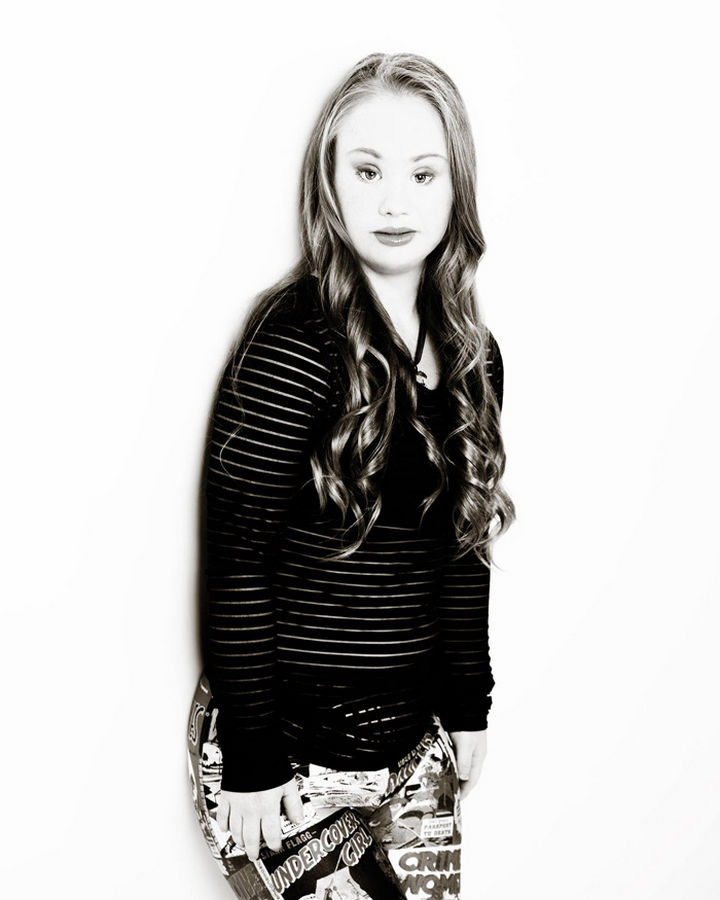 Madeline Stuart, an 18-year-old with Down Syndrome is on a mission to be a model.