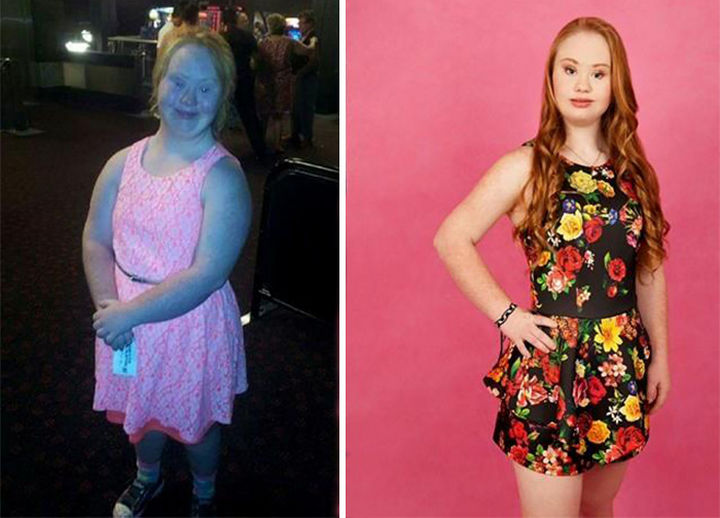 Her transformation is remarkable and she is one step closer to reaching her dreams.