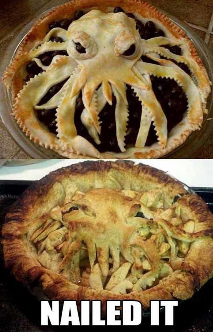 26 Pinterest Fails - It's an Octopus but I can't say what the finished product is supposed to be.