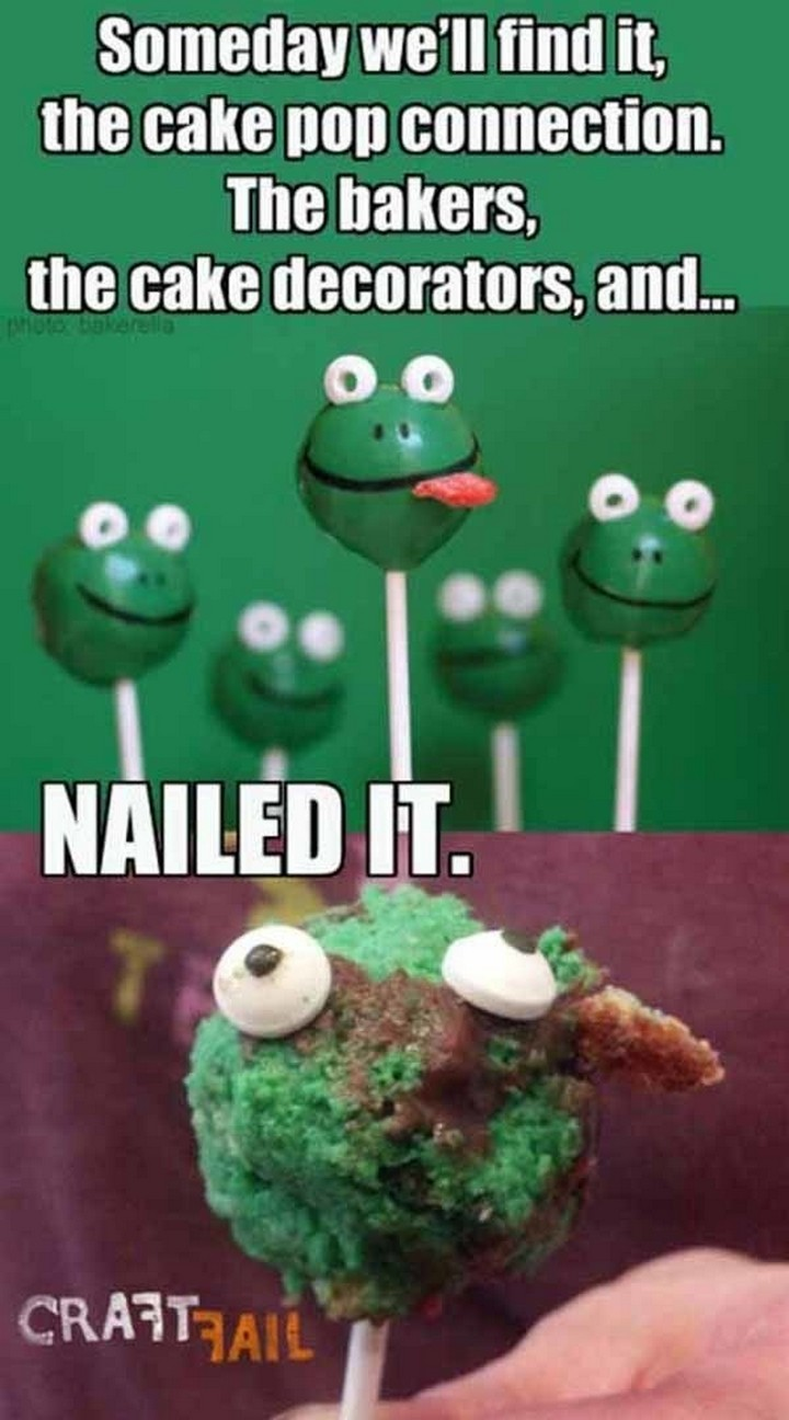 26 Pinterest Fails - At some point during process, something went horribly wrong.