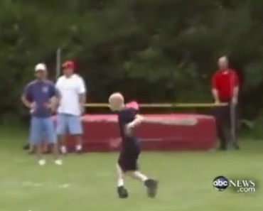 A Boy with Cerebral Palsy Was Struggling to Finish the Race.