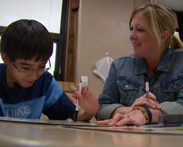Fifth Graders Befriend Bullied Boy With a Learning Disability.