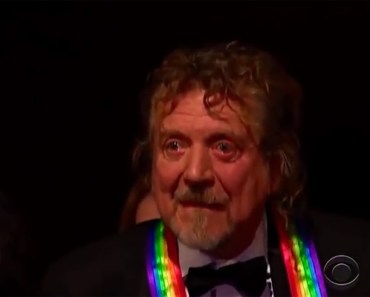 Robert Plant Can't Hold Back the Tears During Musical Tribute.