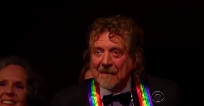 "Robert Plant Can't Hold Back the Tears During ""Stairway to Heaven"" Musical Tribute."