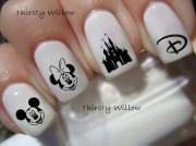 disney nails beautiful
