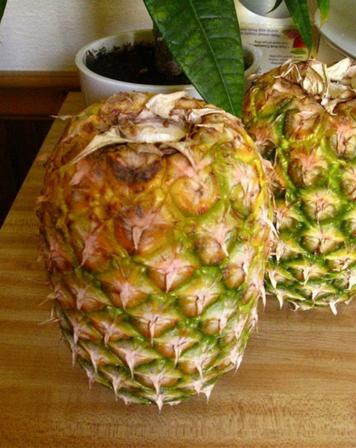 28 Food Storage Hacks - Store your pineapple upside down.