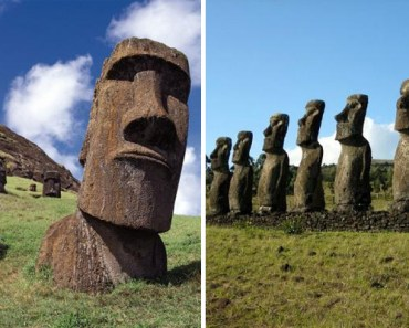 Archaeologists Discover That Easter Island Heads Have Bodies.