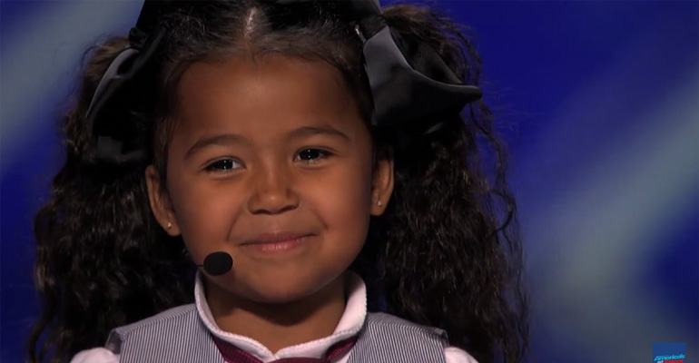 Heavenly Joy Performing 'In Summer' on America's Got Talent.