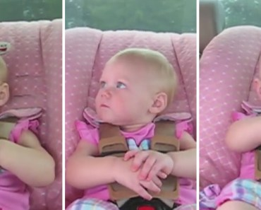 Mom Asked Baby a Question and Her Reply Had Them Laughing.
