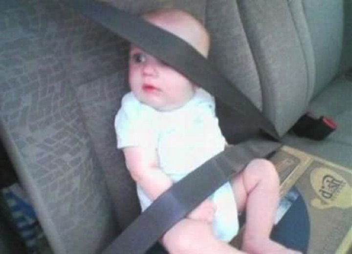 34 Parenting Fails - Buckle up for safety?
