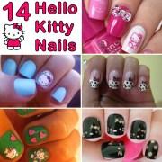 kitty nails and nail art