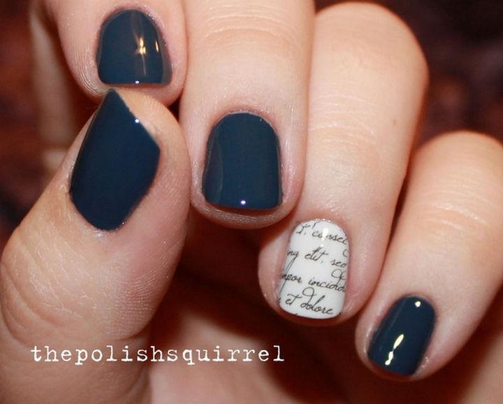17 Minimalist Nails - A bit of writing.