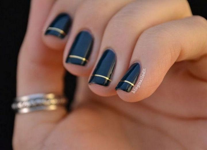 17 Minimalist Nails - Nailed It!
