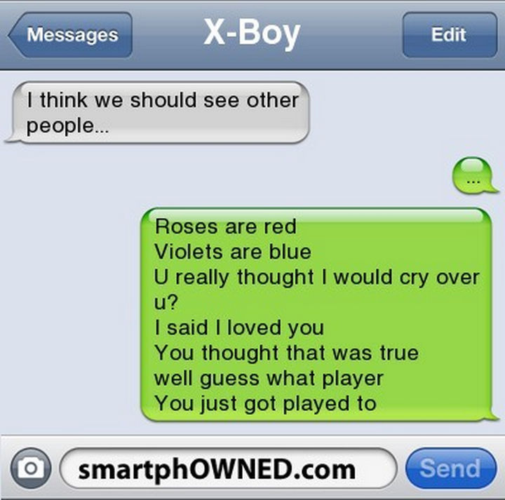22 Breakup Text Messages - That was a long reply, I think they saw it coming.