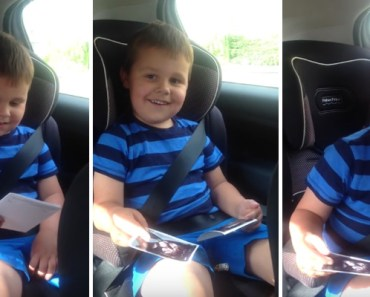 5-Year-Old British Boy Is Excited About Being a Big Brother.