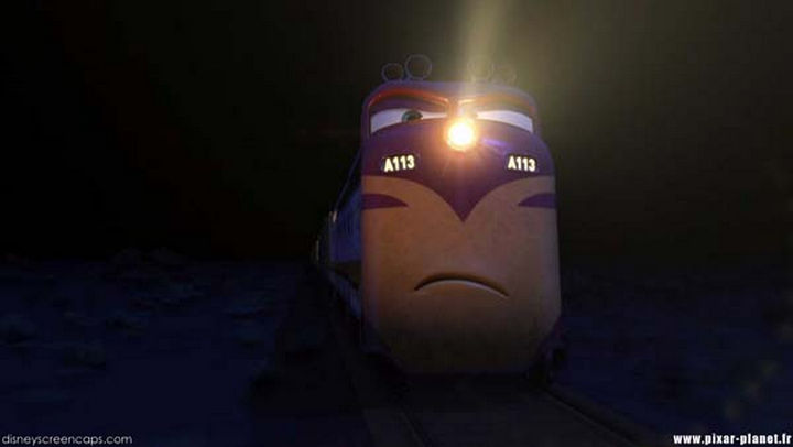 Disney and Pixar 'A113 Easter Egg - The train's reporting number in Cars.