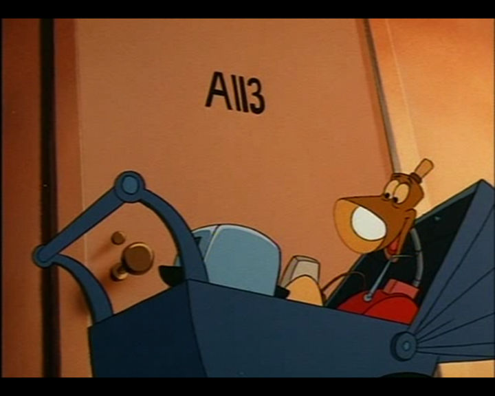 Disney and Pixar 'A113 Easter Egg - On a door in The Brave Little Toaster.