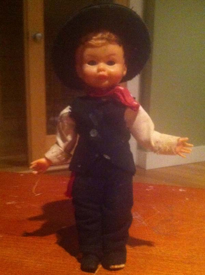 Is it just me or are the doll's eyes extremely creepy? OMG!