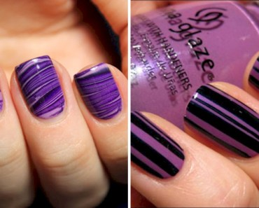 18 Purple Nail Art Designs That Look Sophisticated yet Fun.