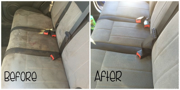 35 House Cleaning Tips - Detail your car seats.
