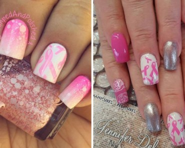 19 Manicures that Raise Awareness About Breast Cancer.