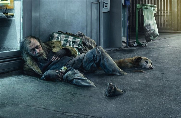 21 Creative Billboard Ads - A thought-provoking ad about how difficult it is to get off the streets.