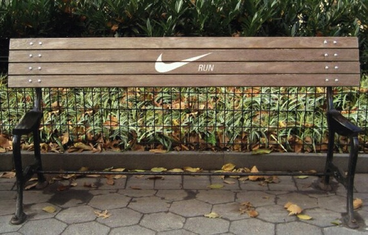 21 Creative Billboard Ads - Staying activeis better than sitting.