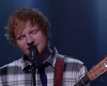 """Ed Sheeran performs Bill Withers' classic """"Ain't No Sunshine."""""""