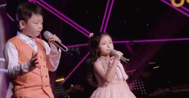 "Jeffrey Li and Celine Tam Performance of ""You Raise Me Up""."