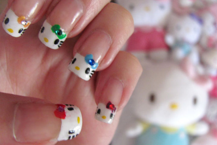 15 Cat Nail Art Manicures O Kitty