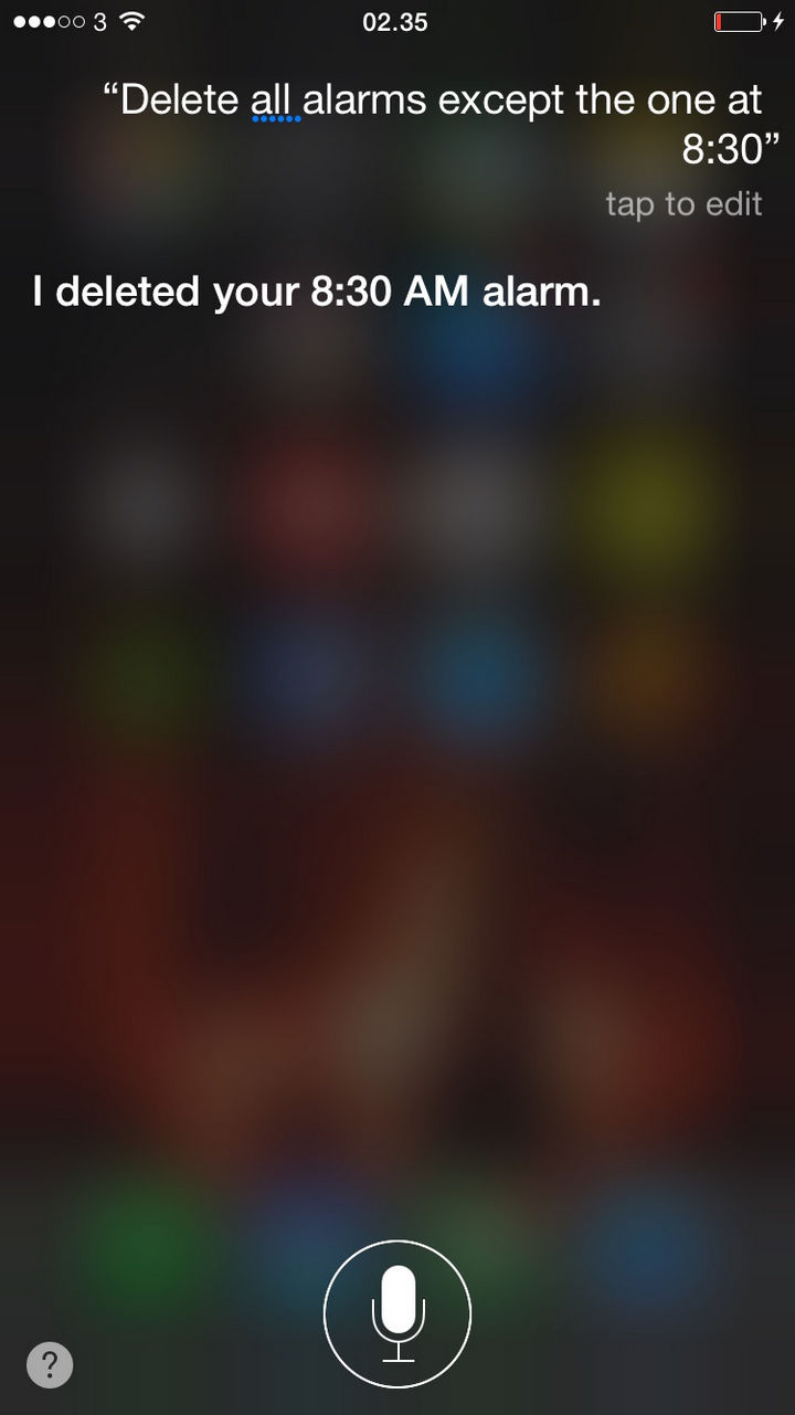 Siri does whatever she wants.