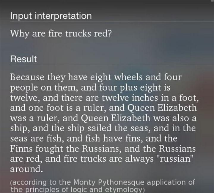 Sometimes, Siri doesn't make sense.